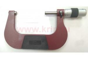 Микрометр гладкий МК 100 кл.1